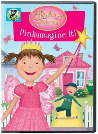 """Pinkalicious & Peterrific: Pinkamagine It!"" DVD"