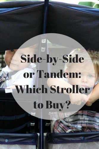 Side-by-Side or Tandem: Which Stroller to Buy?