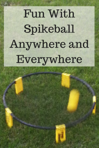 Fun With Spikeball Anywhere and Everywhere