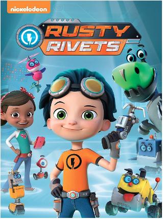 """Rusty Rivets"" DVD"