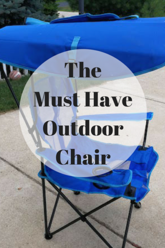 The Must Have Outdoor Chair