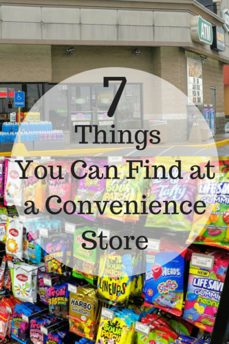7 Things You Can Find at a Convenience Store #roadtrip #conveniencestore #joyinthejourney