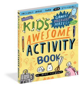 """Keeping Kids Busy With """"The Kid's Awesome Activity Book"""" (& Giveaway Ends 8/10)"""