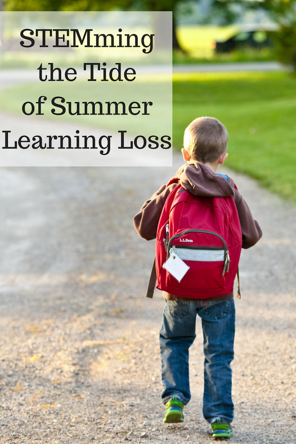 Back to School and Up to Speed: STEMming the Tide of Summer Learning Loss
