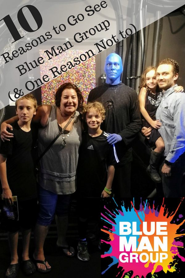 10 Reasons to Go See Blue Man Group (& One Reason Not to)