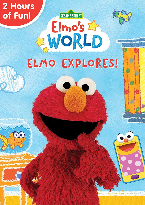 Dvd Sesame Street Elmo S World Elmo Explores Mom And