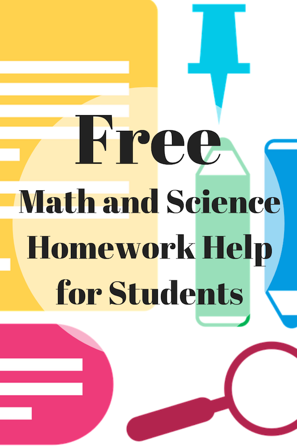 Free Math and Science Homework Help for Students