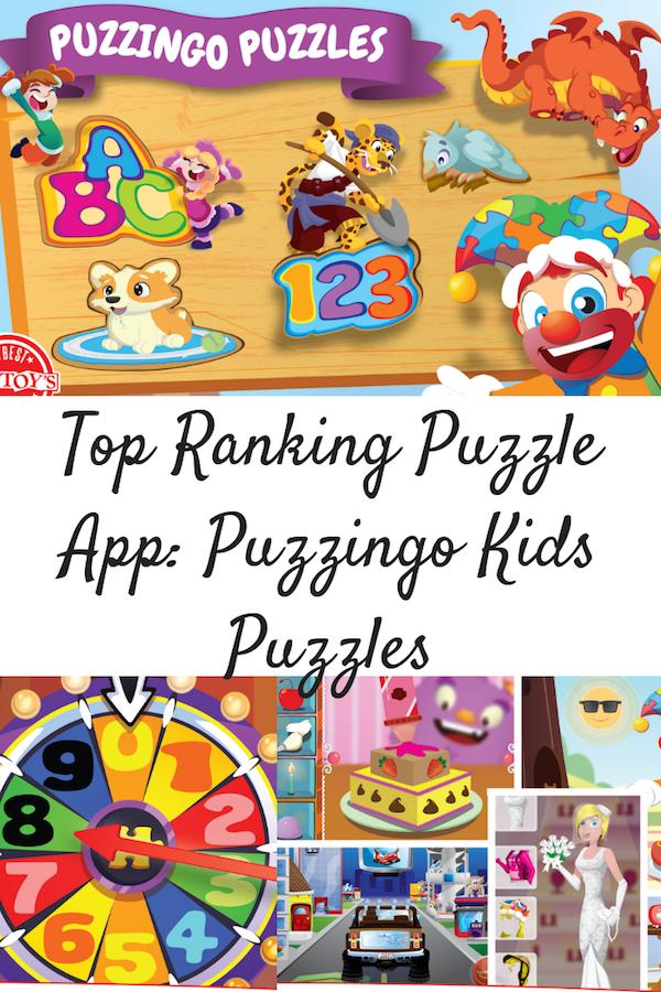 Top Ranking Puzzle App: Puzzingo Kids Puzzles