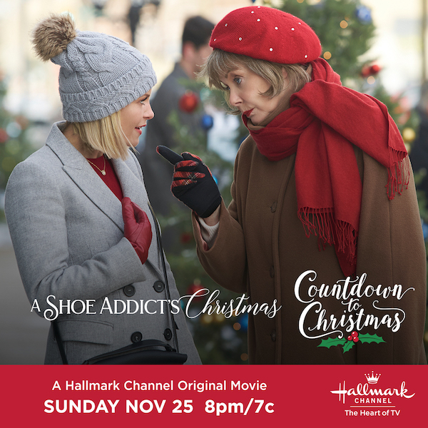 A Shoe Addicts Christmas.Hallmark Channel S Premiere Of A Shoe Addict S Christmas