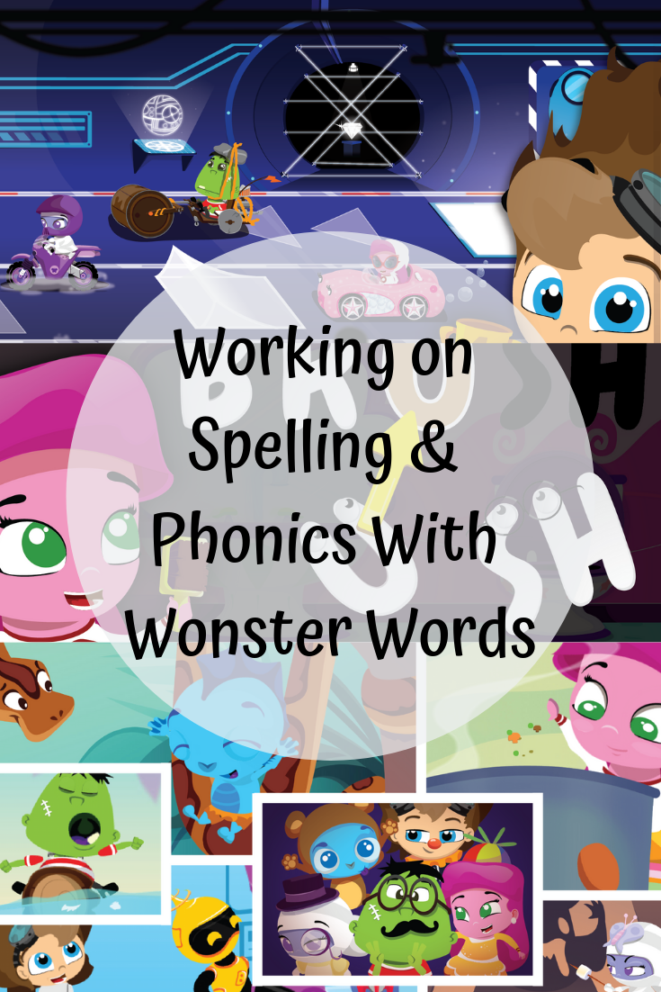 Working on Spelling & Phonics With Wonster Words