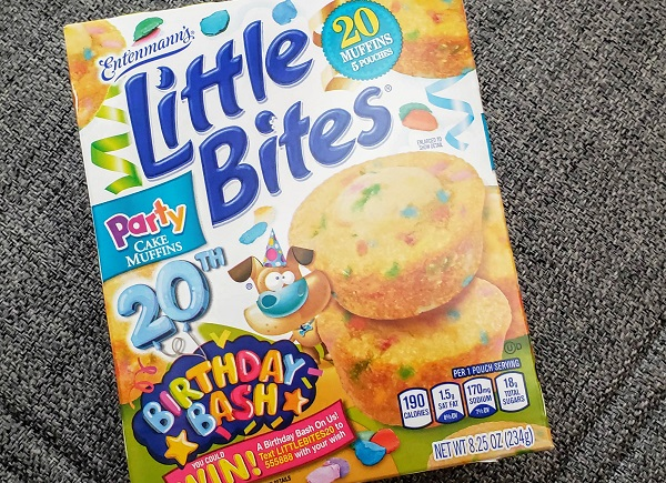So What Do You When Your Favorite Food Has A Birthday Well Eat It Of Course We Picked Up Some The Little Bites Party Cakes And My Daughter Was More