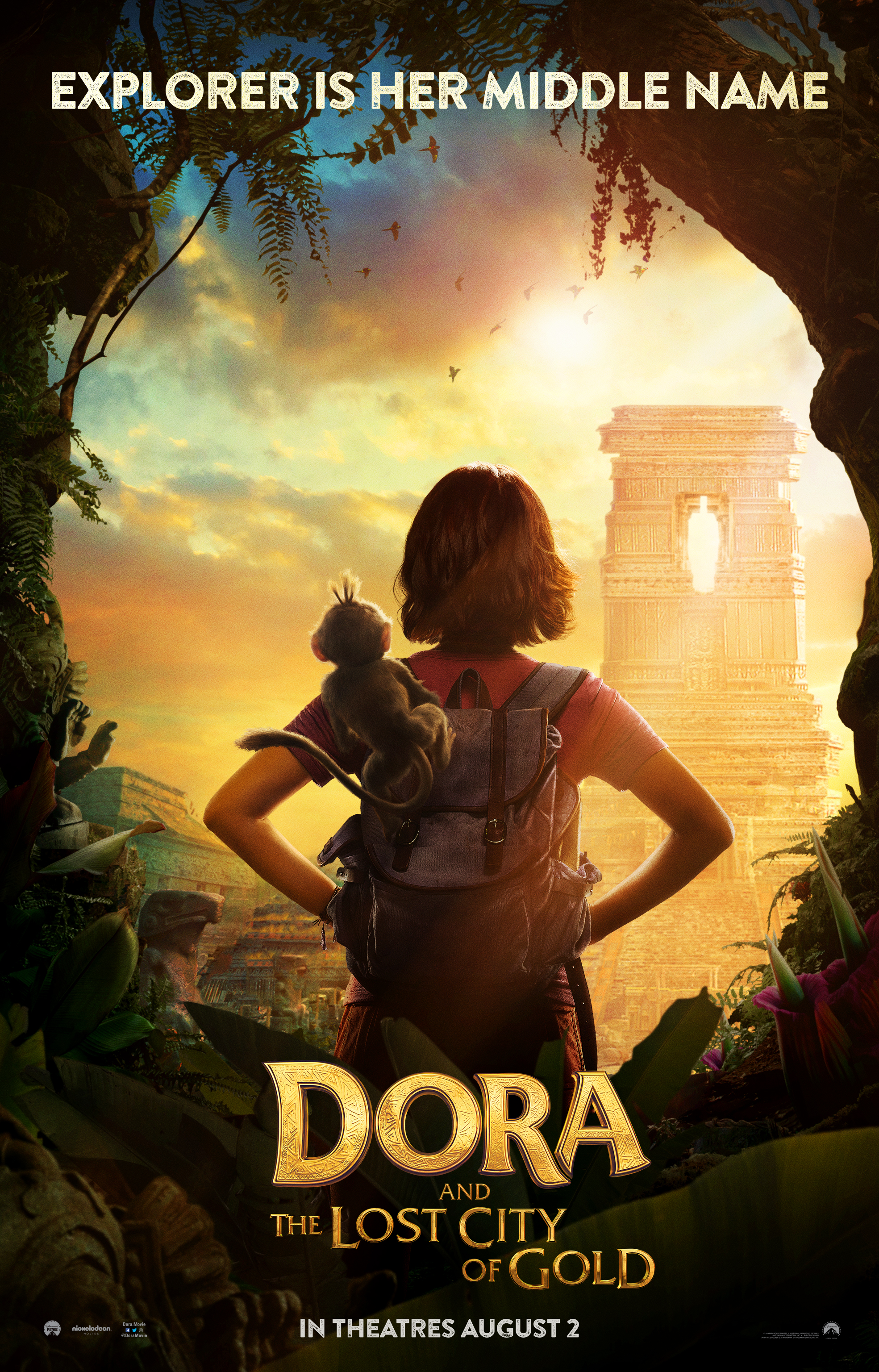 """""""Dora and the Lost City of Gold"""" Movie Trailer – It's Not What You Expect… #DoraMovie"""