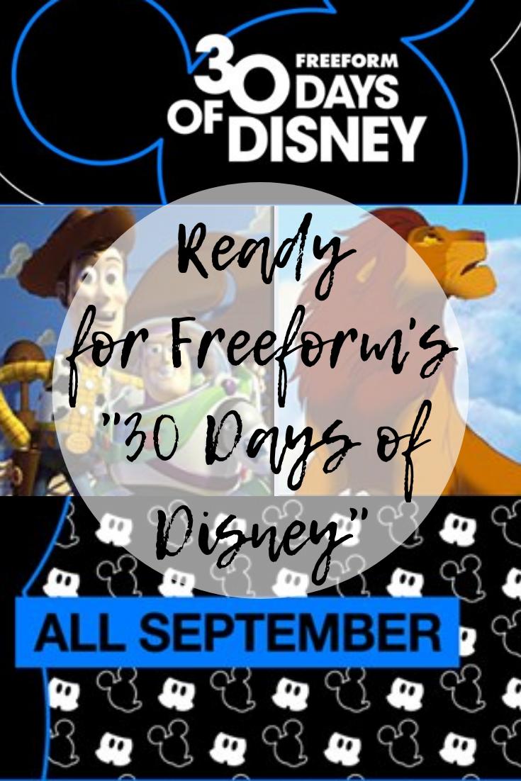 "Get Ready for Freeform's ""30 Days of Disney"""