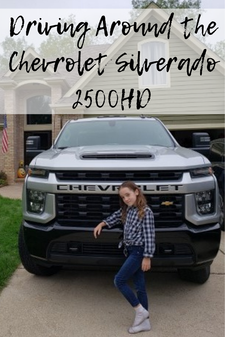 Driving Around the Chevrolet Silverado 2500HD