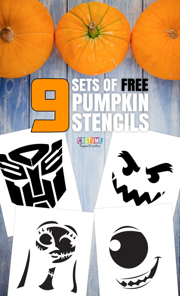 9 Free Pumpkin Carving Stencils Mom And More