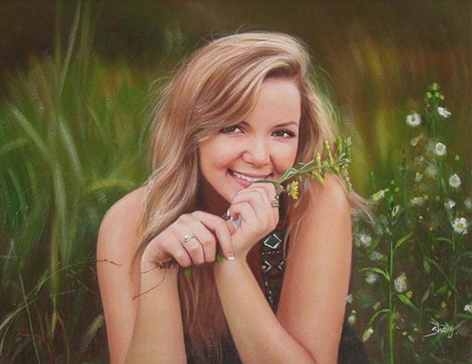 Give the Yoga Lover in Your Life the Gift of a Personalized Portrait