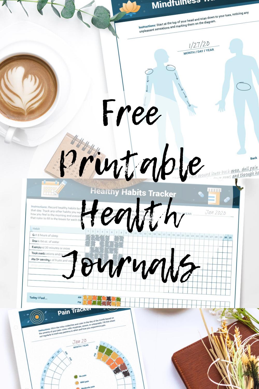 Free Printable Health Journals