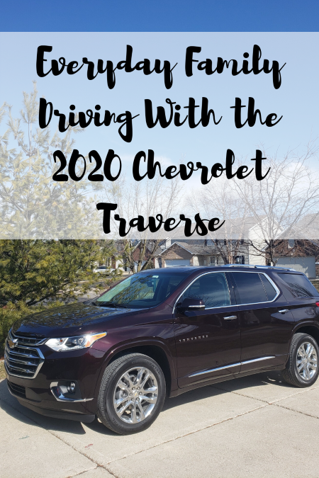 Everyday Family Driving With the 2020 Chevrolet Traverse