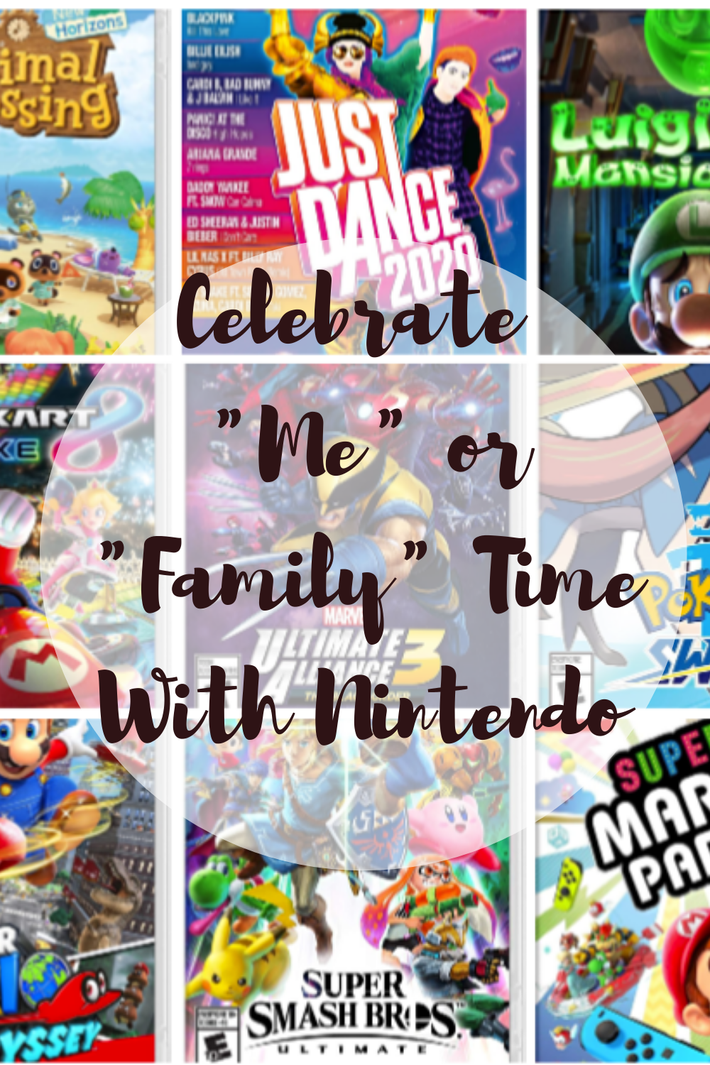 """Celebrate """"Me"""" or """"Family"""" Time With Nintendo"""