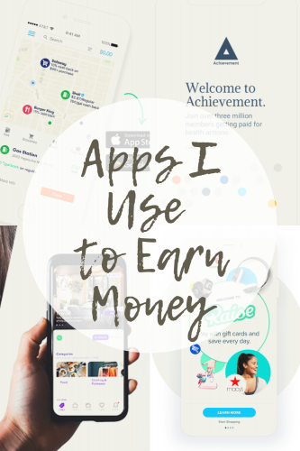 Apps I Use to Earn Money