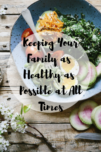 Keeping Your Family as Healthy as Possible at All Times