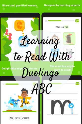 Learning to Read With Duolingo ABC
