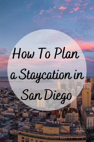 How To Plan a Staycation in San Diego