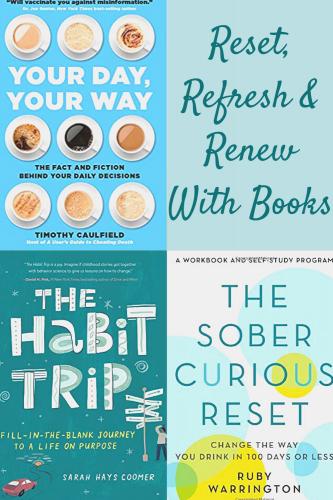 Reset, Refresh & Renew With Books