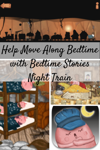 Help Move Along Bedtime with Bedtime Stories Night Train