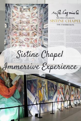 Sistine Chapel Immersive Experience {Oakbrook, IL}