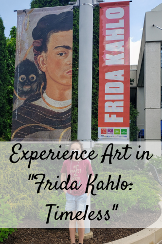 "Experience Art in ""Frida Kahlo: Timeless"""