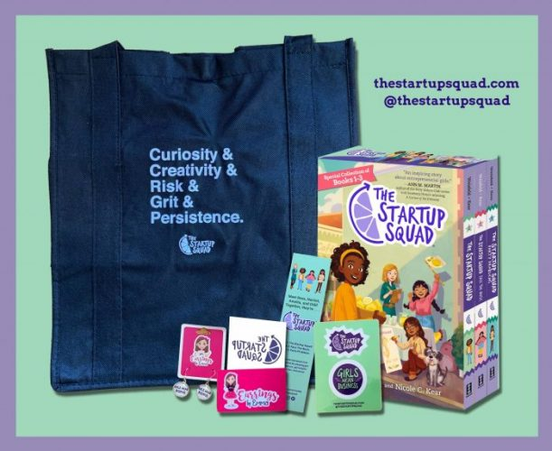 """Business-savvy & Friendship Middle-Grade Series – """"The Startup Squad"""""""