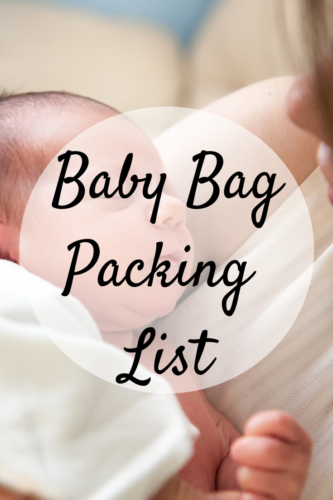 Baby Bag Packing List: Essentials You Should Always Have For Your Newborn
