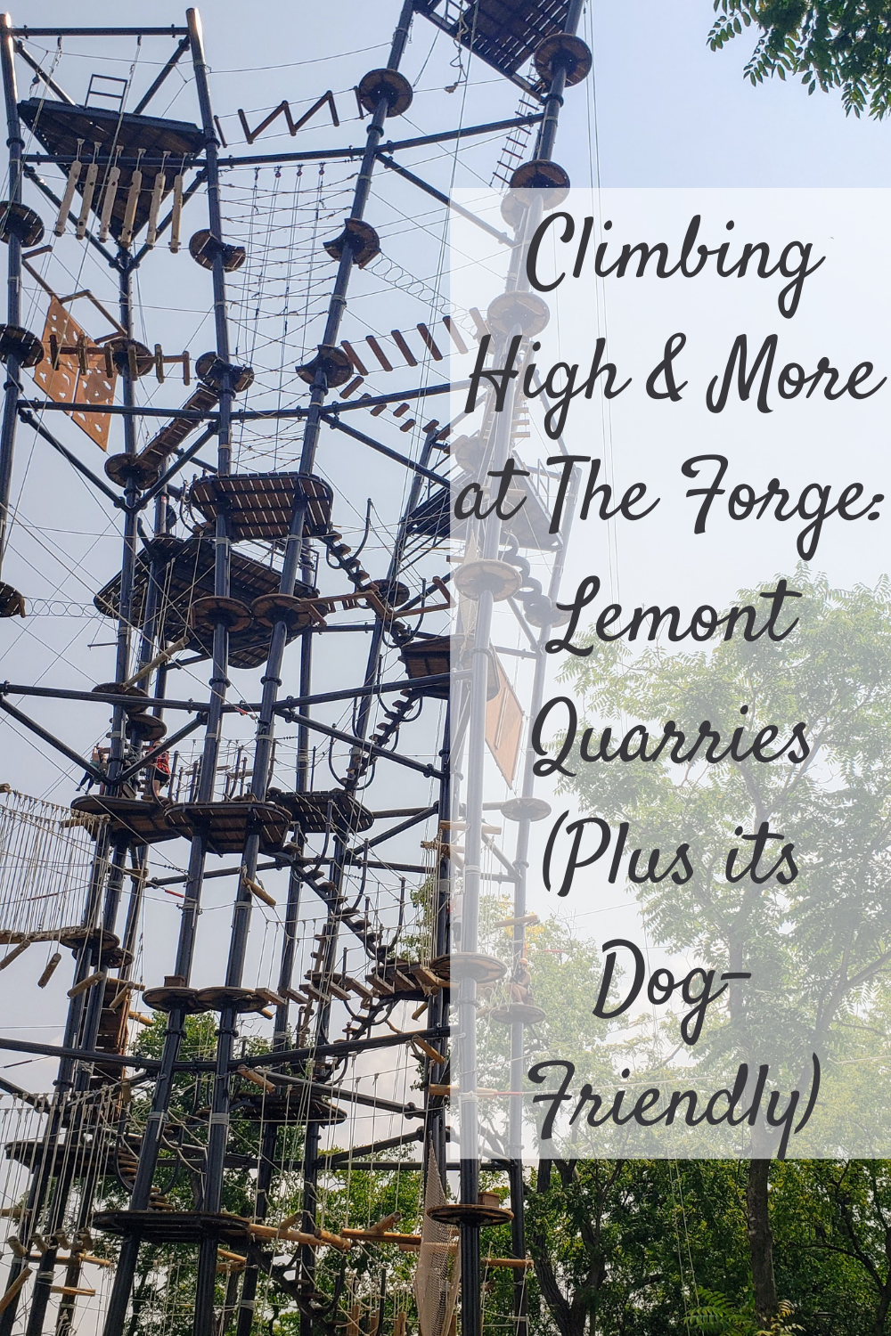 Climbing High & More at The Forge: Lemont Quarries (Plus its Dog-Friendly)