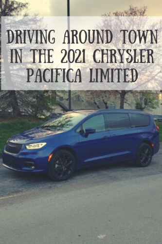 Driving Around Town in the 2021 Chrysler Pacifica Limited